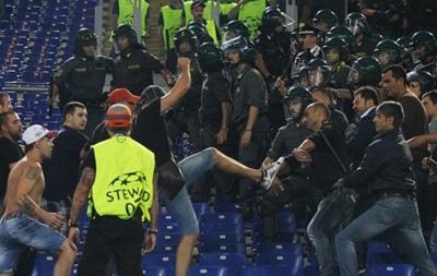 Фанатам ЦСКА запретили появлятся на стадионах Италии