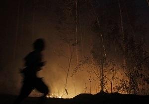 В Киевской области горело 2,5 га травяного настила