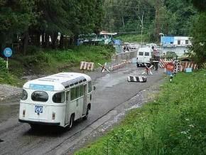 В Абхазии обстрелян пост российских военных
