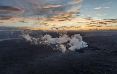В кальдере исландского вулкана произошло землетрясение магнитудой 4,7