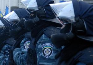 Под Апелляционным судом между сторонниками Тимошенко и беркутовцами произошла потасовка