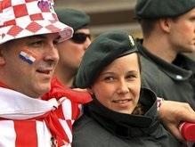 Евро-2008: Хорватский болельщик отпраздновал победу сборной стрельбой из пистолета