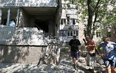 За ночь в Донецке разрушены квартиры, повреждены газопроводы