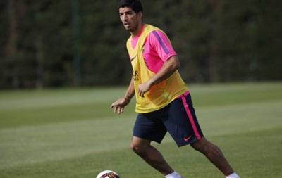 Луис Суарес забил два гола за Барселону в товарищеском матче