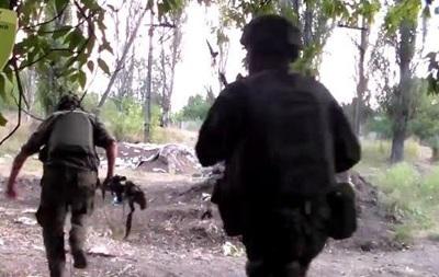 От первого лица: батальон ОУН показал свои военные будни