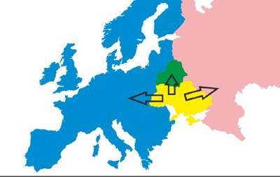 В Украине количество желающих жить в России уменьшилось в два раза