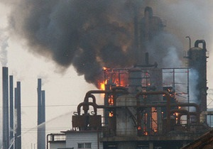 Четыре человека погибли при взрыве на японском химзаводе
