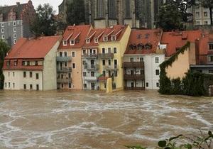 Центральная Европа оказалась в плену воды
