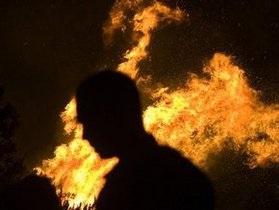 В Тернополе сгорел торговый комплекс