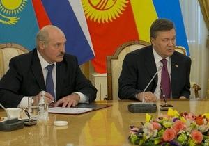 Лукашенко - Янукович - Украина - визит - Лукашенко готовит визит в Украину