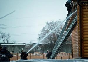 Новости Житомира - В Житомире сгорел ресторан