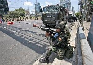 В Таиланде не прекращаются столкновения оппозиции с войсками: есть жертвы