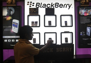 Производитель Blackberry выпустит собственный планшетный компьютер