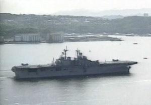 США могут отправить в район Корейского полуострова авианосец