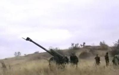 Сепаратисты показали, как стреляют из гаубиц