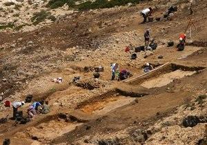 Греческие археологи обнаружили кладбище, которому более трех тысяч лет