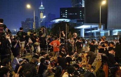 Гонконг: у здания правительства накаляется обстановка