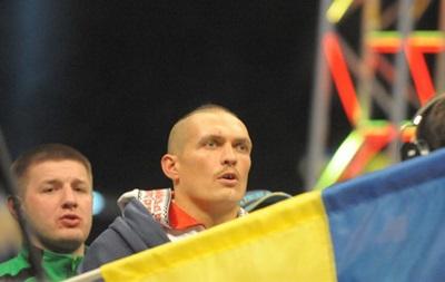 Александр Усик: Соперник просто был провокатором, а я не велся