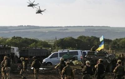 Обстрелы аэропорта Донецка, Дебальцево, Лисичанска. Карта АТО за 5 октября