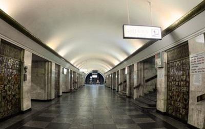 В Киеве закрыта станция метро Крещатик