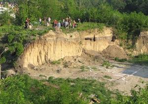 Киевляне заявляют о разрушении исторической горы Щекавица