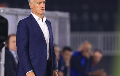 Жена французского голкипера пожелала смерти наставнику сборной Франции