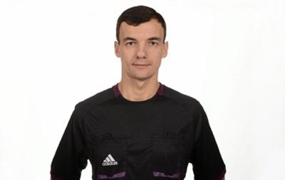 Украинский арбитр обслужит матч отбора Евро-2016