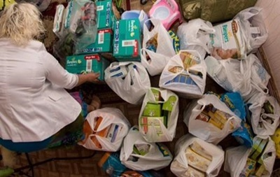Поляки отправили гуманитарный груз для беженцев с Донбасса