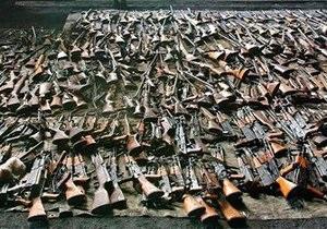 1 сентября в Украине начинается месячник добровольной сдачи оружия