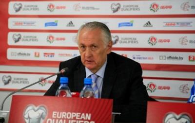 Тренер сборной Украины: У нас были большие проблемы