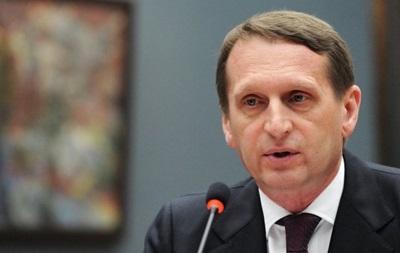 Спикер Госдумы призвал мир признать аннексию Крыма Украиной