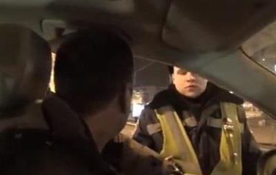 Один из лидеров Автомайдана обматерил гаишника