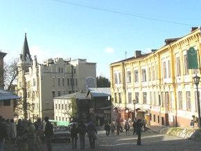 На Андреевском спуске с 25 декабря запретят движение транспорта