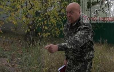Губернатор Луганской области устроил перепалку с местной жительницей