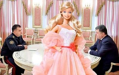 Фотожабы с Порошенко - розовый кабинет президента