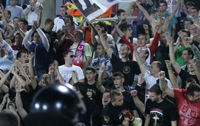 Причиной остановки матча Сербия - Албания послужил беспилотник