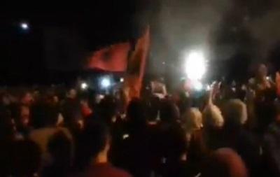 СМИ: После матча Сербия – Албания в Косово начались беспорядки