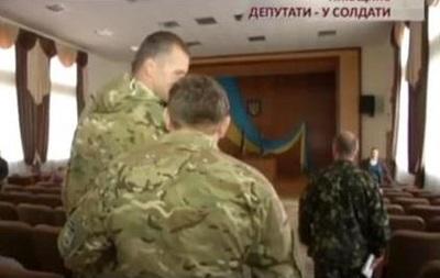 Депутатам Ирпеня принесли повестки прямо на сессию горсовета