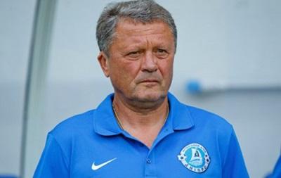 Тренер Днепра: Чемпионат Украины мы ставим на первое место