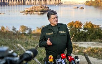 Порошенко рассказал о делах на границе, беспилотниках и системе слежения
