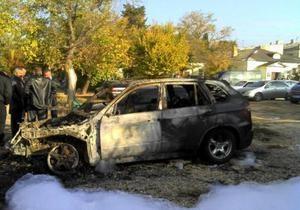В Севастополе за два дня подожгли пять автомобилей