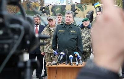 Порошенко заявил о перевооружении пограничников