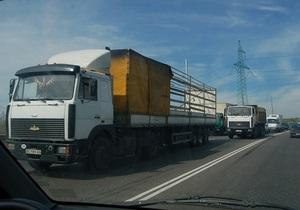 В Киеве задержаны мужчины, угонявшие грузовики