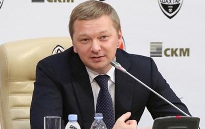 Гендиректор Шахтера: Происходящее в Донецке - это огромная трагедия