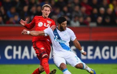 Немецкий Байер задавил Зенит в Лиге чемпионов