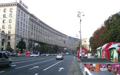 На Майдане Независимости перекроют движение