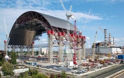 Украина увеличит взнос в Чернобыльской фонд  Укрытие