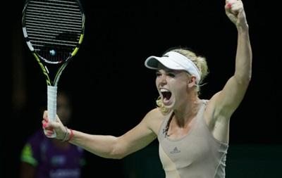 Определились все участницы 1/2  финала Итогового турнира WTA
