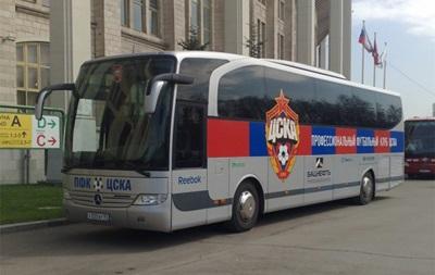 Автобус с молодежной командой московского ЦСКА попал в аварию