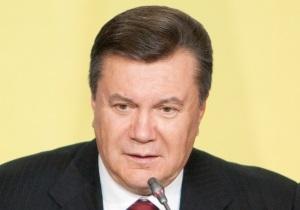 Янукович: Украина работает над проблемами, на которые указал Европарламент